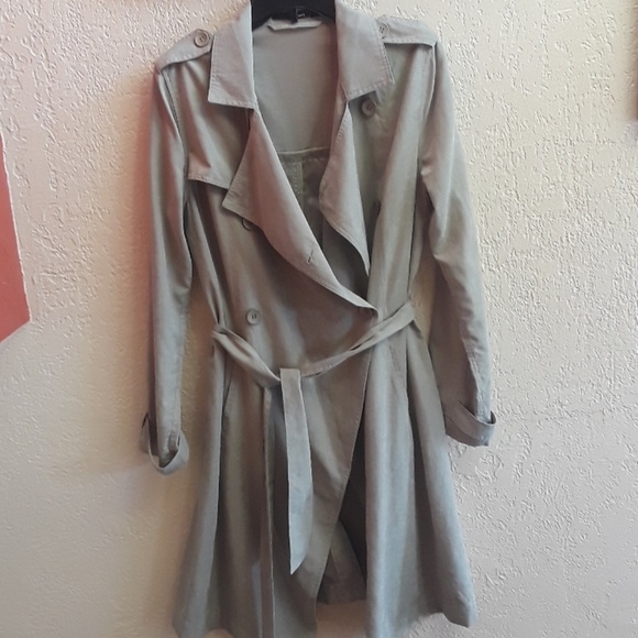 Event Jackets & Blazers - Tan Trench Coat, Large